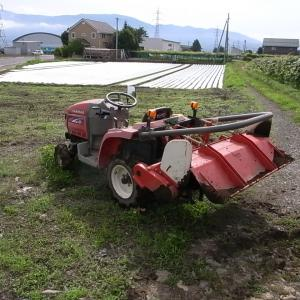 トラクター作業