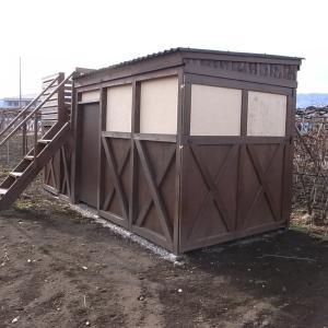 畑の小屋の建築費用