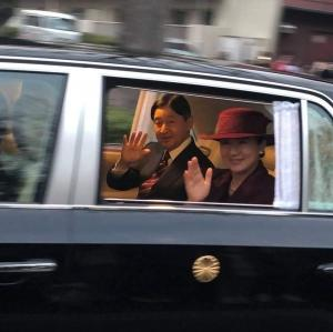 天皇、皇后両陛下が所沢に! 埼玉県所沢市