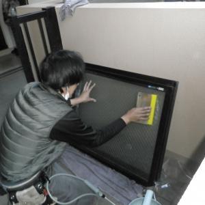 ガラスフィルム工事 東京都東久留米市