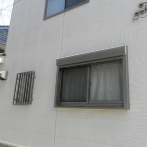 たて面格子、リフォーム窓シャッター取付 埼玉県川越市