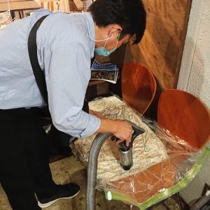 【東広島 布団宅配クリーニング】ファブって済むならクリーニング屋なんていらないよ⁇