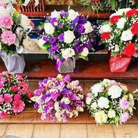 花束や花かごを気軽に購入できるお店2選@タイ・バンコク