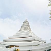 タイ王国バンコク都内の寺院観光 ~天井画の美しい寺院「ワット・パクナム」