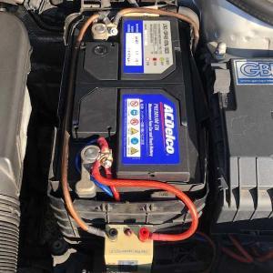 GTI、バッテリー交換