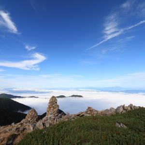 大天井岳まで