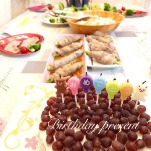 小6が全部作る絶品誕生日料理&インコサラダ♡