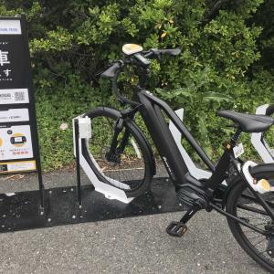 e-bikeっぽいシェアサイクルで江ノ島とか鎌倉とか