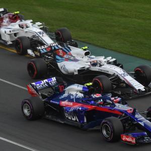 【F1】F1第1戦オーストラリアGP決勝の結果