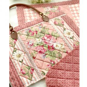 ピンクの薔薇バッグ〜