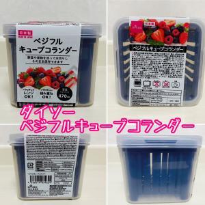 「ダイソー」野菜や果物を洗って水切りしながら保存できる!保存容器が便利♪