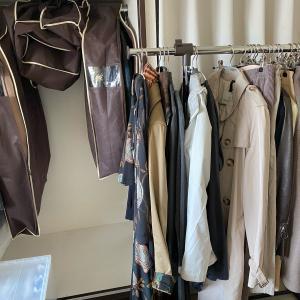 クローゼットの掃除と衣類の衣替えと見直し