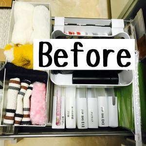 【100均の「開け閉めいらずの収納BOX」にキッチン消耗品袋を総入れ替え!!】