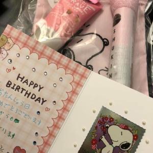 たくさんのプレゼントをありがとうございました