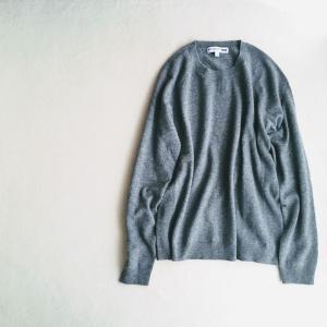 ユニクロイネスのセーター、グレー、のお話
