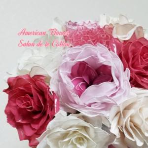 プレ花嫁さんと一緒に花材仕入れも行きます
