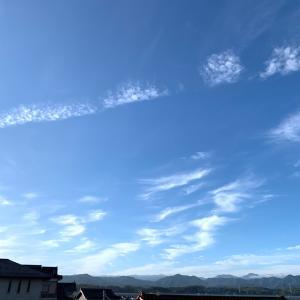 今日も…いい天気!(笑っ)
