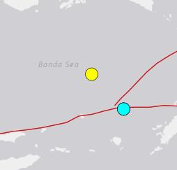 10/24 M6.2 台湾 宜蘭県 バンダ海の法則は健在! 地震予知 M4-5 日本・沖縄
