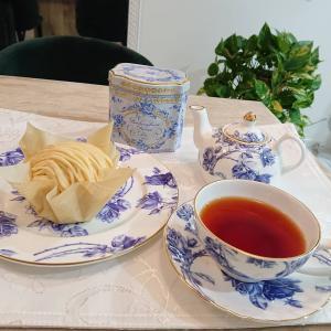 モンブランに合わせた紅茶は・・・バッキンガム宮殿の紅茶