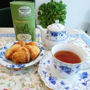 塩クッキー、焼いてみました(^-^)〜合わせた紅茶は??〜