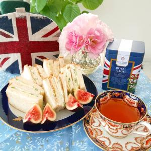 11月1日は「紅茶の日」でしたね〜(^-^) 朝からいただいた紅茶は(^-^)