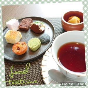 ホテルランチ&ティータイム(^-^) 〜ザロイヤルパークホテルアイコニックさん〜