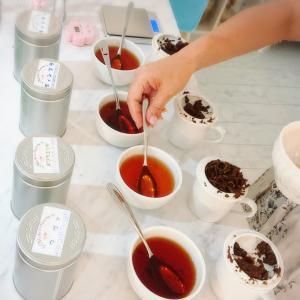 【お知らせ】産地別に紅茶を飲み比べるティスティングレッスン開催のご案内(^-^)