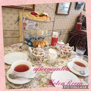 美味しい紅茶が飲めるお店で、休日のアフターヌンティー(^-^)
