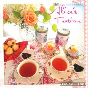 「紅茶の日」のアリスのアフタヌーンティーレッスン、準備も着々です(^-^)