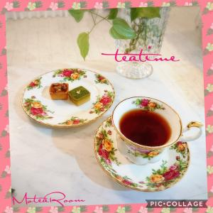 紅茶レッスンからの〜  ティータイム(^-^)