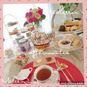 【レッスン報告】美味しくて楽しいお茶会レッスン〜アフタヌーンティー〜