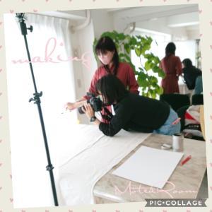 【サロンが撮影現場に〜】情報誌の撮影協力させていただきました(^-^)