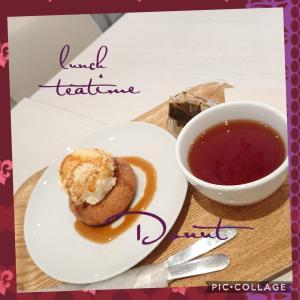 街のカフェ(ファーストフード)で紅茶を美味しく飲む〜(^_^)