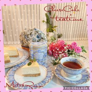 【ティータイム】チーズケーキと紅茶の相性は??