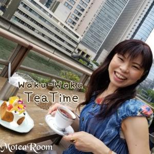 【ワクワクの紅茶活動】大阪市内ど真ん中?のティータイム(^-^)
