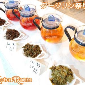 【ダージリン紅茶祭り!】後半に向けて準備中