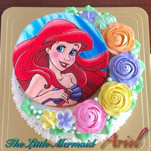 「涼しげな人魚姫ケーキ」が製作された季節とは。