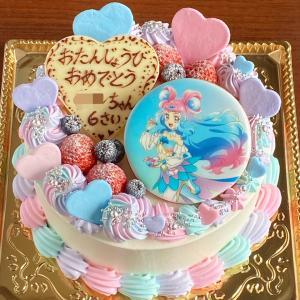 ふあふあ〜〜でドリーミーなプリキュアケーキ☆
