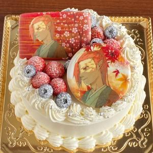 娘からのオーダー♡オリジナルキャラ絵のケーキ