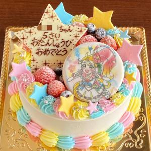 トロピカってる!キュアサマーのケーキ☆