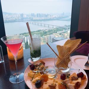 韓国グルメ】漢江ビューが素敵なコンラッドの37Grill&Bar