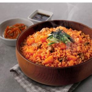【韓国グルメ】簡単に食べられるチャドルカクトゥギチャーハン♥