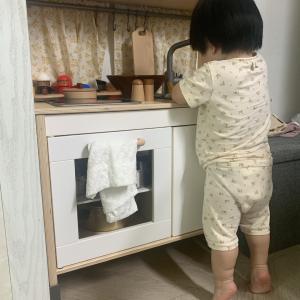 [韓国生活」息子と過ごした日常(IKEAで買った可愛いおままごと用シンク台リメイクのお話)