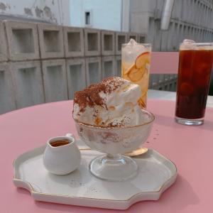 【韓国カフェ】弘大(ホンデ)にある雰囲気のいいループトップのカフェ発見♥