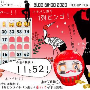 【BLOG BINGO 2020】PICK-UP PICs : ついにっ「1列ビンゴ」を叫ぶ者!現るーーーッ!!