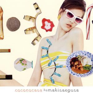 COLLAGE CARD #117 : cocoro casa「ココロ カーサ」