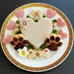 マルプー『海ちゃん』のBirthdayケーキ