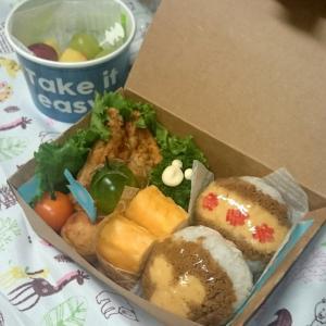 隠れミッキー弁当4連ちゃん