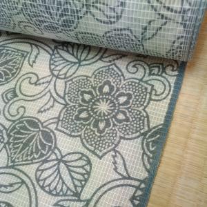 絹紅梅と和紙の羅八寸
