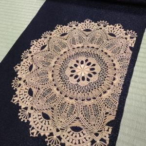 ゴージャスな刺繍名古屋帯